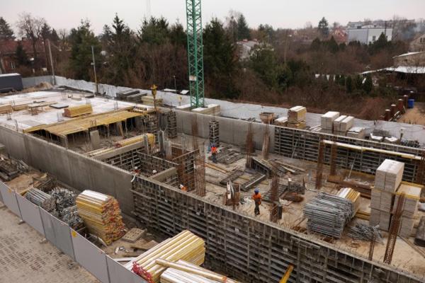 2021-01-12 Budowa Zarzecze Pruszków